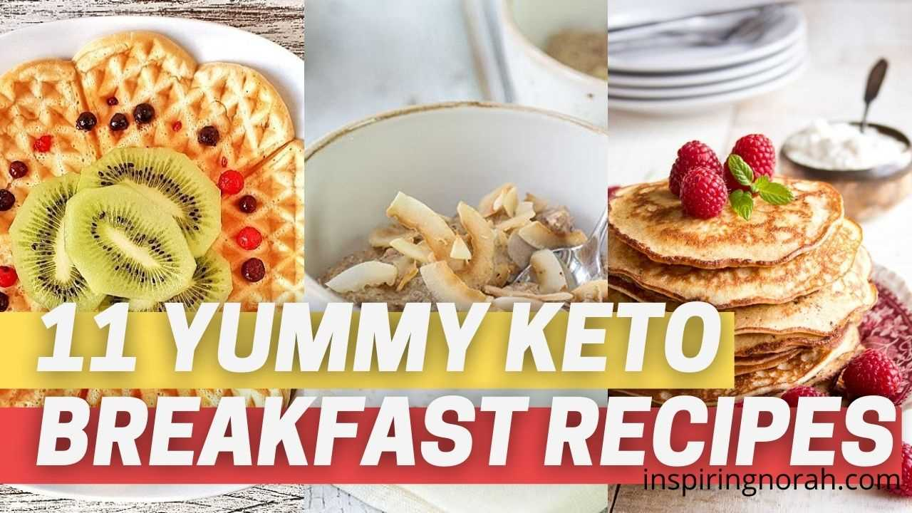13 Yummy Keto Breakfast Recipes In No Time - Burn Fat From The Very Start of The Day
