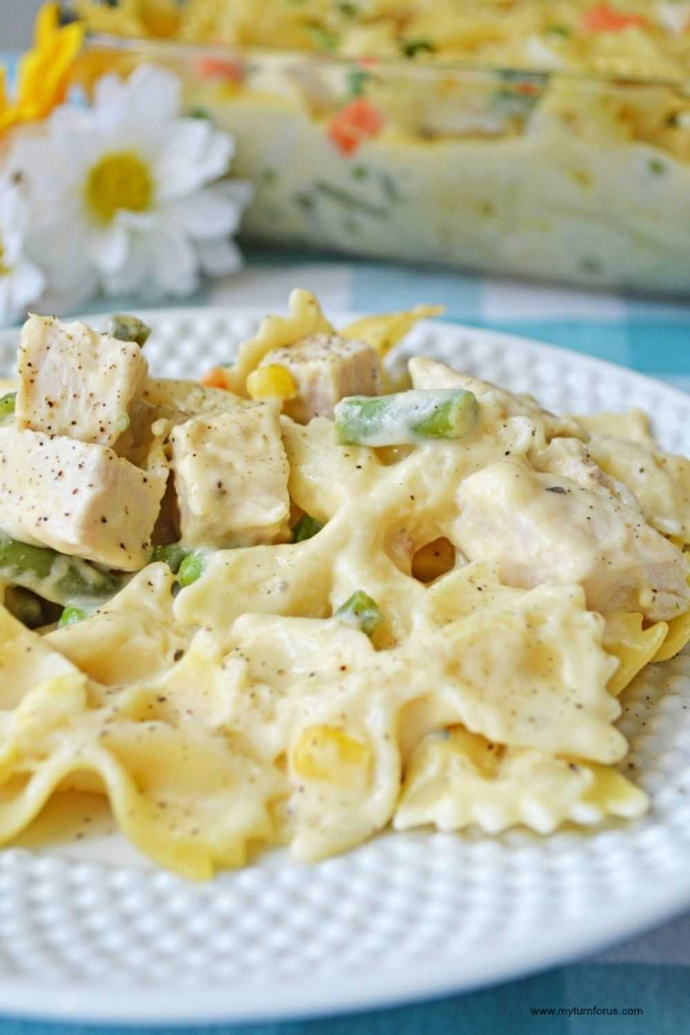How To Make An Easy Turkey Or Chicken Noodle Casserole
