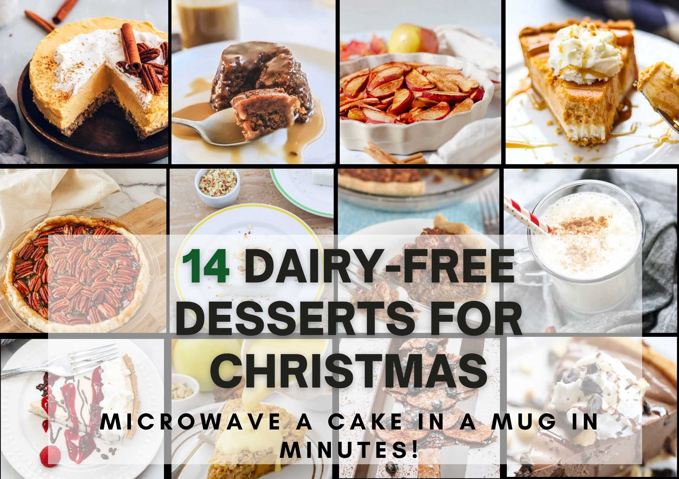 14 Dairy-Free Dessert For Christmas