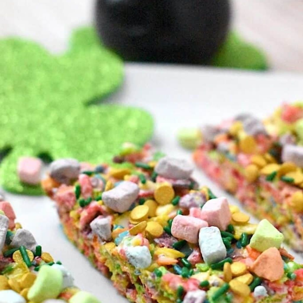 Fruity Pebbles Treats: (With a 3-Ingredient Option)