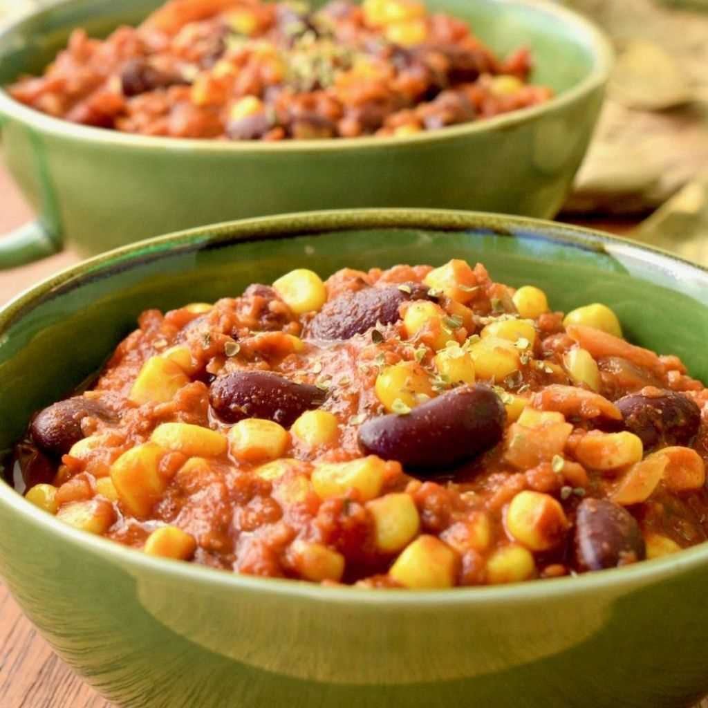 Spicy Vegan Chilli Recipe Without Carne