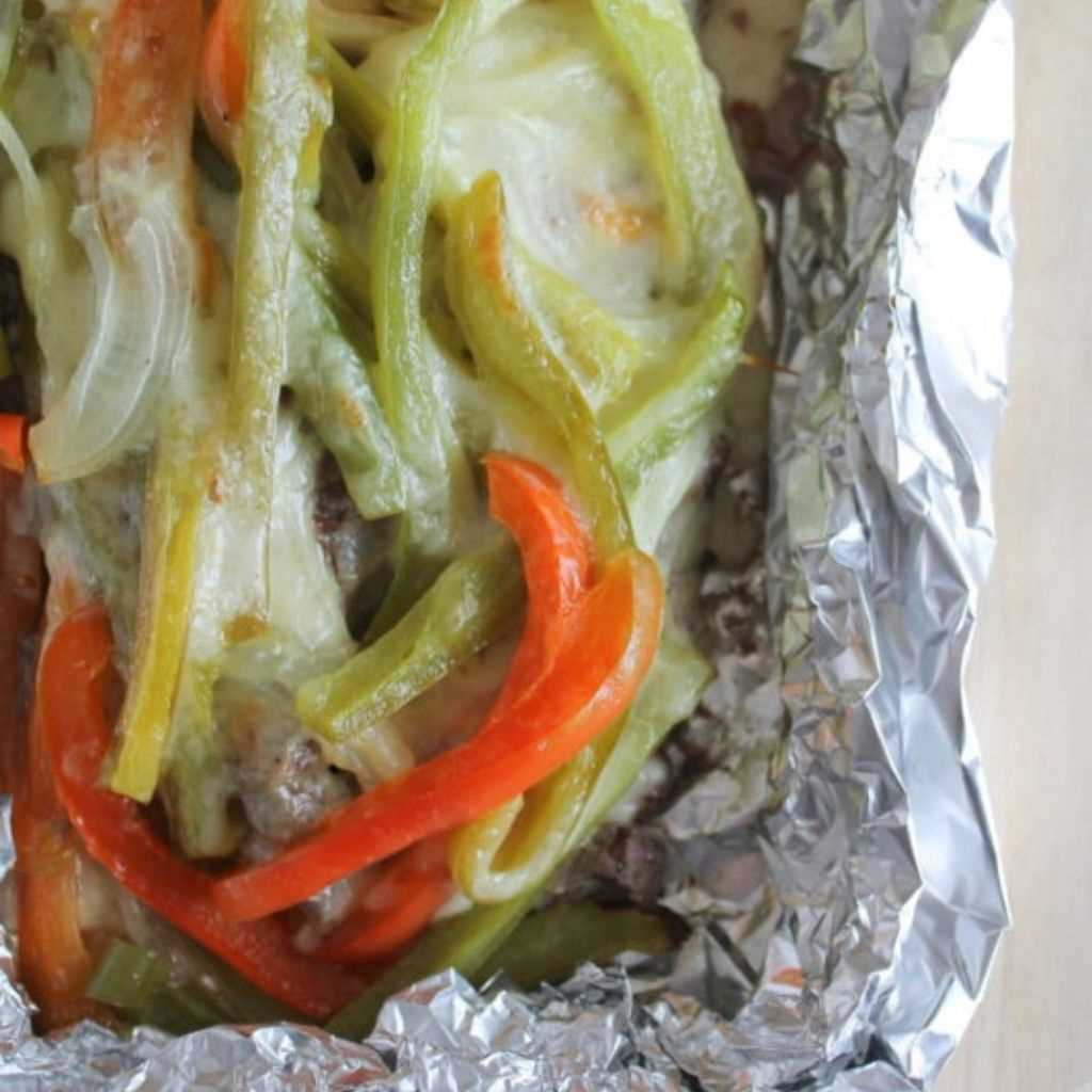 Tinfoil Packet Philly Cheesesteak Recipe For Cheese Lovers