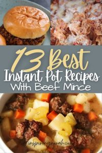 13 Easy Instant Pot Recipes With Beef mince
