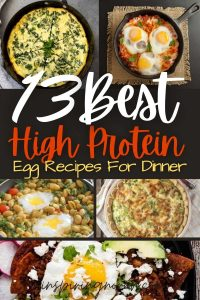 13 Healthy, High Protein, and Easy Egg Recipes For Dinner