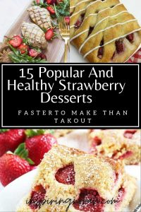 15 Popular And Healthy Strawberry Desserts