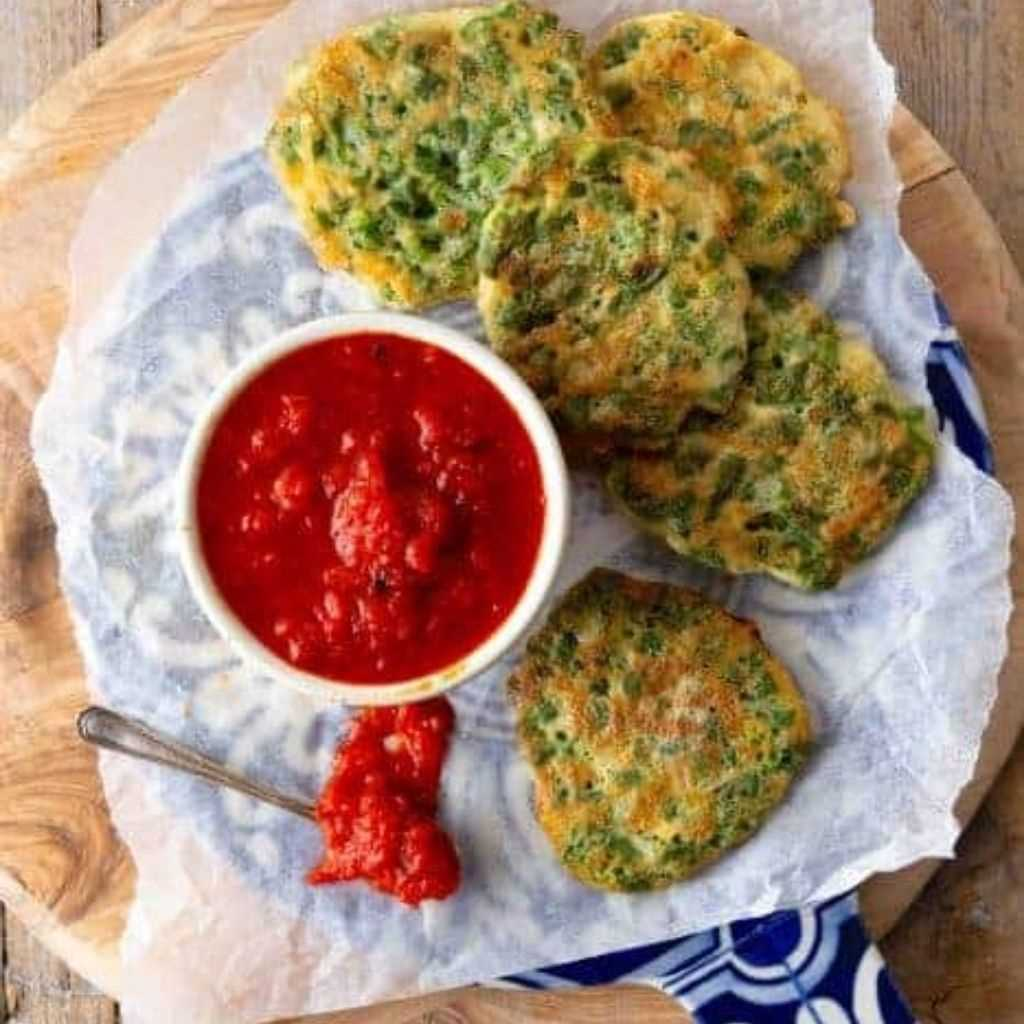 Egg And Beans Fritters– Guatemalan Green Bean Fritter