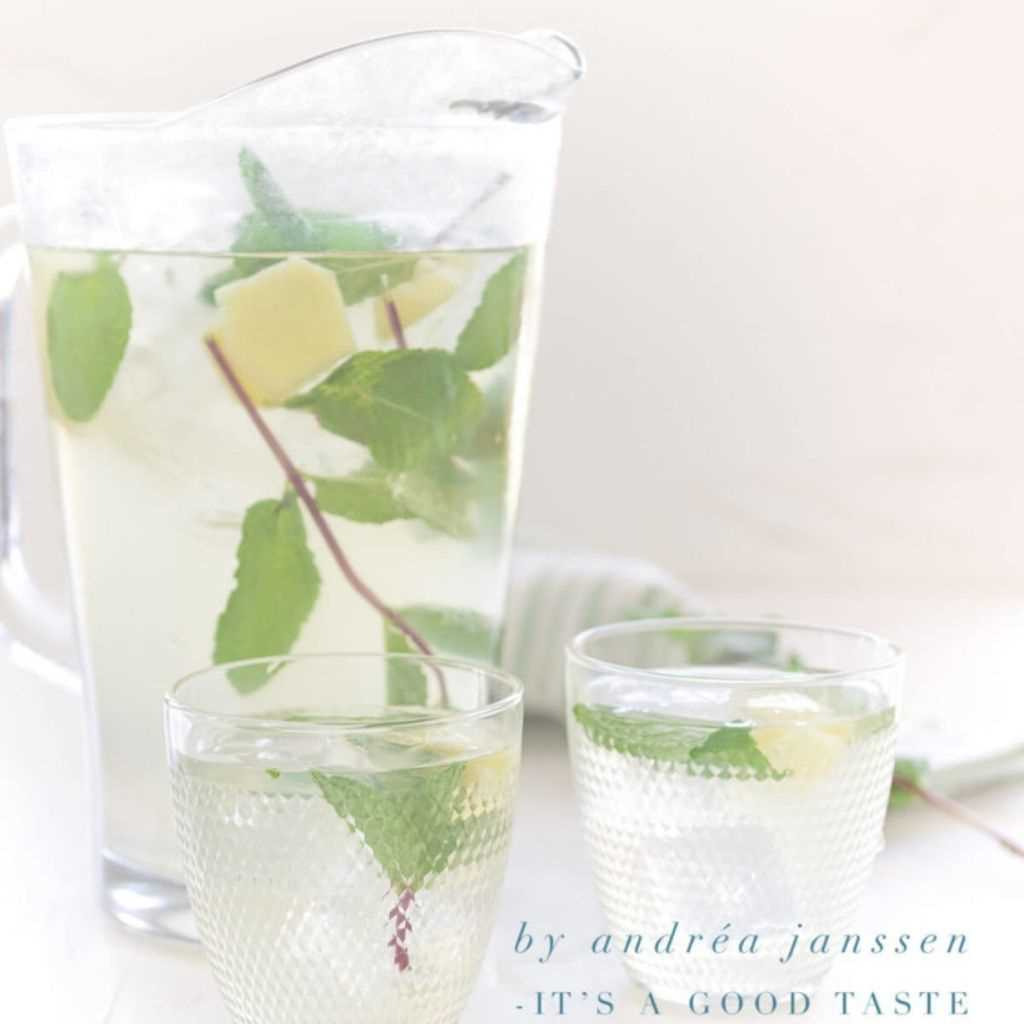 How To Prepare Homemade Ginger Iced Tea For Summers