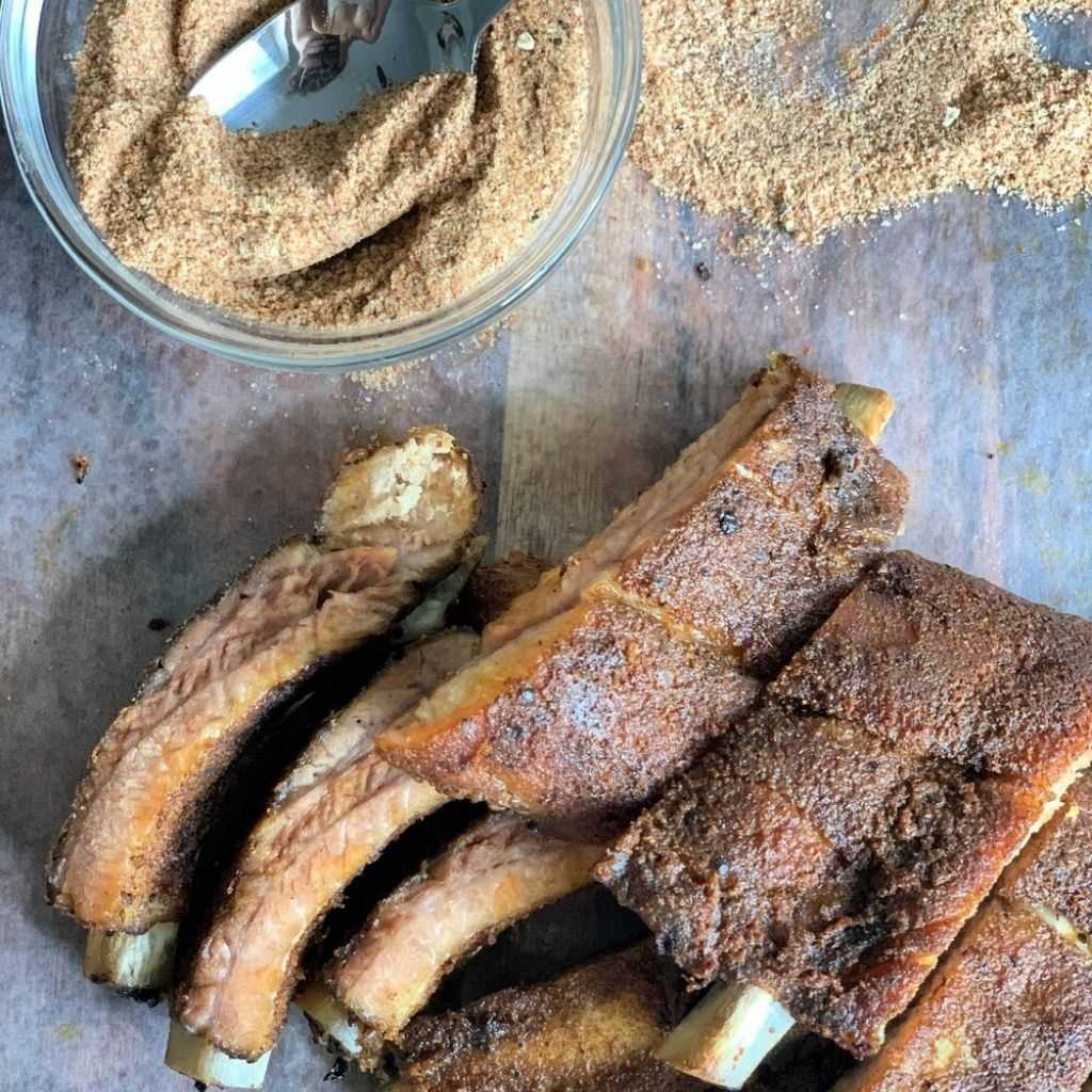 The Best Keto Dry Rub- Sweet Heat BBQ ( Meat Or Chicken)